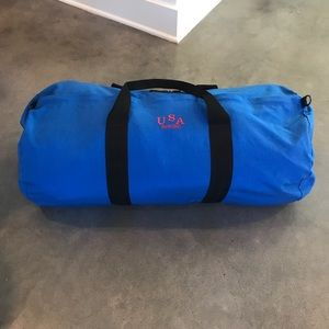 NWOT USA Rowing Blue Duffle Bag XL size